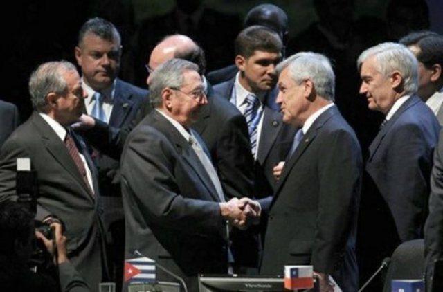 Raúl Castro y la Celac